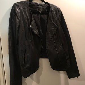 Trouvè Leather Jacket - M